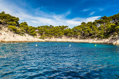 Calanque - Sheltered Inlet Near Cassis, France Stock Photo