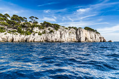 Calanque - Sheltered Inlet Near Cassis, France Stock Photos