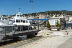 Calanque tourist boat La Ciotat Royalty Free Stock Image