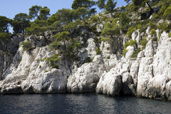 Calanques Royalty Free Stock Photography
