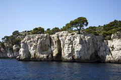 Calanques Royalty Free Stock Image