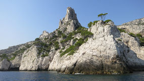 Calanques Stock Photography