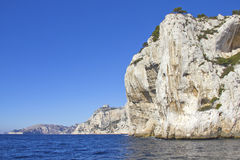Calanques in Cassis, France Stock Image