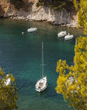 Calanques of Cassis, France Royalty Free Stock Images