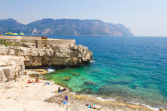 Calanques in Cassis Royalty Free Stock Image
