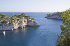 Calanques of cassis, marseille Royalty Free Stock Images