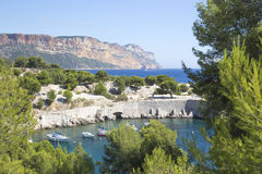 Calanques of cassis, marseille Stock Photo