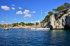 Calanques, Cassis Royalty Free Stock Photography