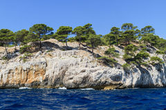 Calanques coast near Cassis in Provence Stock Images