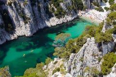 Calanques d'En Vau near Cassis Provence Royalty Free Stock Image