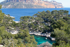 Calanques de cassis Stock Photo