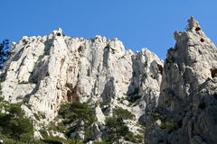 Calanques de cassis scenic Royalty Free Stock Photo