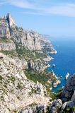 Calanques de luminy, marseille Royalty Free Stock Photo