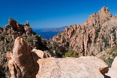 Calanques de Piana Royalty Free Stock Photo
