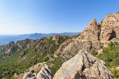 Calanques de Piana Corsica Royalty Free Stock Photos