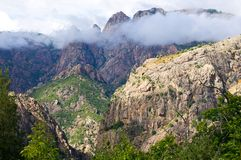Calanques de Piana, UNESCO World Heritage site Royalty Free Stock Photo