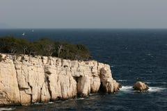 Calanques Horizont Lizenzfreie Stockbilder