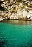 Calanques and lagoon near Marseille. France Royalty Free Stock Photography