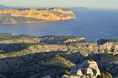 The Calanques in Marseille Stock Photos