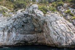 Calanques nationalpark, Frankrike Fotografering för Bildbyråer