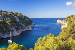 Calanques of Port Pin Royalty Free Stock Image