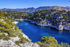 Calanques of Port Pin Royalty Free Stock Photos