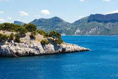 Calanques of Port Pin in Cassis, Provence, France Royalty Free Stock Photo