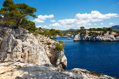 Calanques of Port Pin in Cassis, Provence, France Stock Images