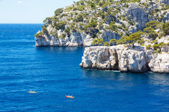 Calanques of Port Pin in Cassis, Provence, France Royalty Free Stock Photography