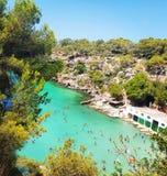 Calapi Mallorca Reisen Stockfotos