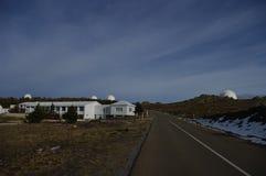 Calar Alto Observatory Royaltyfria Bilder