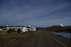 Calar Alto Observatory Royalty Free Stock Images