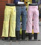Calças Foto de Stock