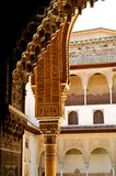Calat Alhambra, Granada. Architectural details of the historic Calat Alhambra or Red Fortress in Granada royalty free stock photo