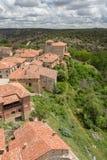 Calatañazor Spagna, città medievale Fotografia Stock