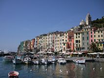 Calata Doria, Portovenere Royalty Free Stock Photography