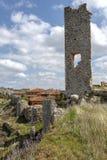 Calatanazor, Soria Spain. Ruins of a medieval fortress in Calatanazor, Soria Spain Stock Images