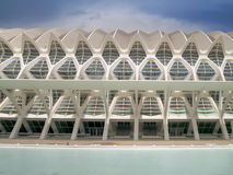 Calatrava της Βαλέντσιας Umbracle Στοκ φωτογραφίες με δικαίωμα ελεύθερης χρήσης