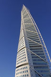Calatrava. A creation called Turning torso by the spanish architect Santiago Calatrava, situated in Malmo, Sweden Royalty Free Stock Photos