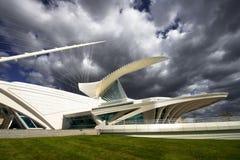 Calatrava Art Museum, Milwaukee Wisconsin stock photo
