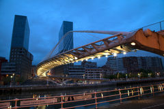 Calatrava-Brücke Stockbild