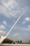 Calatrava bridge Stock Photography