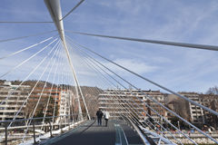 Calatrava Bridge Royalty Free Stock Photo