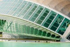 Calatrava City Of Arts And Sciences In Downtown City Of Valencia. VALENCIA, SPAIN - JULY 22, 2016: Calatrava City Of Arts And Sciences In Downtown City Of Stock Photography