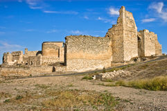 Calatrava la Vieja Castle Ruins in Spain Stock Photo