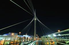 Calatrava's pedestrian bridge in Petah Tikva, Isra Royalty Free Stock Photos