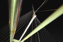 Calatrava's pedestrian bridge in Petah Tikva, Isra Stock Photography