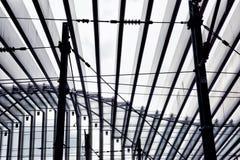 Calatrava ` s stacja - Reggio Emilia †'Włochy IV obraz stock