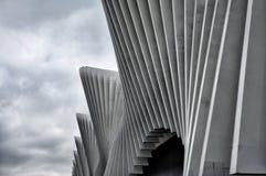 Calatrava`s Station - Reggio Emilia – Italy Royalty Free Stock Photo