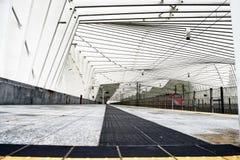 Calatrava`s Station - Reggio Emilia – Italy VI Stock Photo